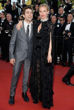 Sienna Miller in Cannes neben Schauspieler Xavier Dolan