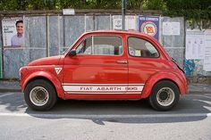 Fiat 500 Abarth. The real one.