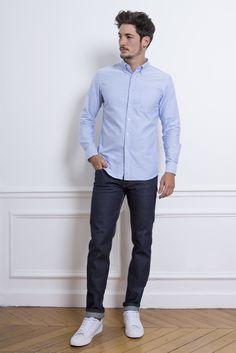 LePantalon - Pantalon jean brut selvedge homme en vente sur Le Pantalon.