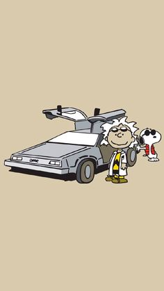 Snoopy and Woodstock are coming back to the future Snoopy Love, Snoopy And Woodstock, Peanuts Cartoon, Peanuts Snoopy, Wallpaper Fofos, Bibliotheque Design, Snoopy Wallpaper, Peanuts Characters, Joe Cool