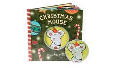 Christmas Mouse book & ornament  Personalized book for Boys & Girls (ages 2-10)
