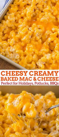 Baked Mac and Cheese Recipe - Dinner, then Dessert