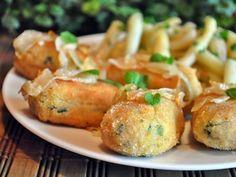 Kotlety rybne Baked Potato, Poland, Salads, Potatoes, Fish, Baking, Ethnic Recipes, Potato, Bakken