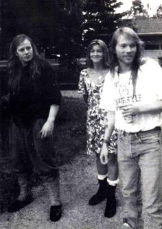 Axl and his brothers Stuart and Amy