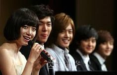 Resultado de imagen para boys over flowers press conference