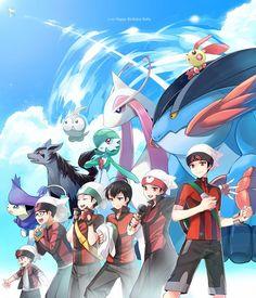Pokemon - Ruby's evolution. I love this so much <3