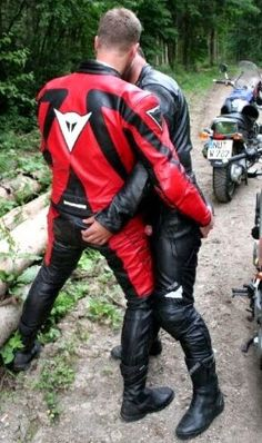 Bikers Black Men Leather Trousers Leather Men Bikers Bike Leathers Motorcycle