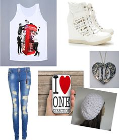 """""""one direction outfit"""" by onedirectionswagprincess ❤ liked on Polyvore"""