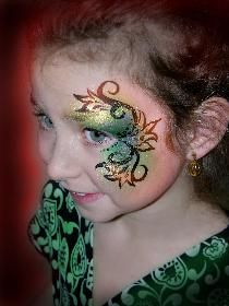 Face painting inspiration - from the simple to the more complex!