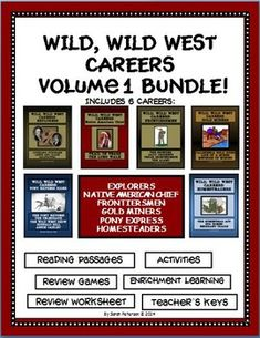 188 best Wild West Lesson Plan images on Pinterest in 2018 | Reading ...