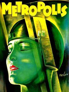 FILM MOVIE 1927 METROPOLIS VINTAGE FINE ART PRINT POSTER CC353 | eBay