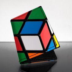 Rubik's Cube Leather Cardholder