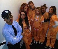 Orange Is The New Black Kostüm selber machen   Kostüm Idee zu Karneval, Halloween & Fasching