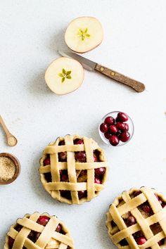 Cranberry Apple Pies   Christmas Pies Recipe.