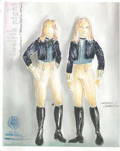 sebastian and viola Twelfth Night, Marketing Jobs, Costume Design, Sketches, Princess Zelda, Costumes, Fictional Characters, Art, Drawings