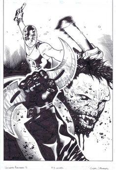Ultimate Avengers #3 by Olivier Coipel *