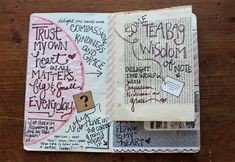 besottment by paper relics: Peek Into My Moleskine Art Journal: May 2013