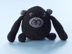 Free Crochet Pattern: Congo The Gorilla