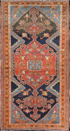 """Persian Heriz rug, 4'0""""X7'6"""", 1920, Keivan Woven Arts Gallery"""
