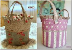 Keka: The journal of my work: baskets - Diy Fabric Basket