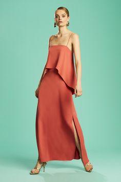 f298395a16e2 Ginger & Smart Resort 19 | Anchor one shoulder dress | RESORT 19 ...