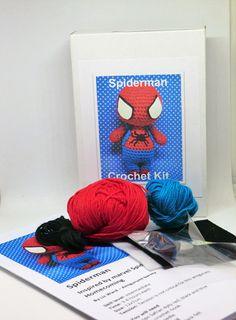 Spiderman avengers crochet kit