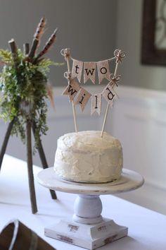 Two Wild Cake Topper, Two Wild Birthday, Two Wild Banner, Two Cake Topper, Second Birthday Cake Topper, Second Birthday Cake, 2nd Birthday Cake Ideas, 2nd Birthday, Two Woodland Theme Birthday, Woodland Themed Second Birthday Party, Woodland Theme Birthday Party, Wild One, Woodland Themed Cake Topper