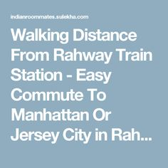Walking Distance From Rahway Train Station - Easy Commute To Manhattan Or Jersey City in Rahway NJ | 877697 - Sulekha Roommates