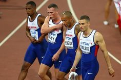 Poor changeovers denied Great Britain a medal in both 4 x 100 metres relays, but while the women's team took their disappointment with good grace, the men's team turned on their youngest member. The men's quartet had been in contention for a medal when CJ Ujah, running the anchor leg, seemed to set off too soon. James Ellington, running the third leg failed to catch him and then angrily smashed the baton into the track. Britain could have grabbed third in the race, which was won by Jamaica.