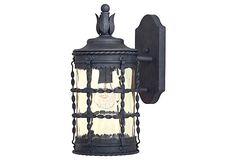 Mallorca 1-Light Outdoor Lantern, Iron on OneKingsLane.com