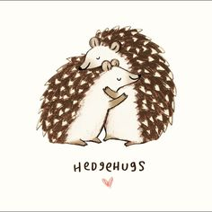 I love my little hedgehog! :)