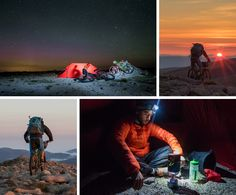 Huw Oliver and Ronan Dugan go on a mountain bike adventure to seek out the the Scottish aurora in the Cairngorm Mountains, Scotland.