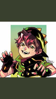 Boboiboy Anime, Anime Kiss, Character Poses, Character Design, Naruto Akatsuki Funny, Pokemon Ash Ketchum, My Childhood Friend, Boboiboy Galaxy, 3d Animation