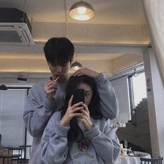 Find images and videos about girl, boy and couple on We Heart It - the app to get lost in what you love. Cute Couples Photos, Cute Couple Pictures, Cute Couples Goals, Couple Goals, Korean Boy, Korean Couple, Cute Korean, Best Friends Aesthetic, Couple Aesthetic