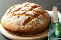 For tasty, soft white homemade bread, have a go at Paul Hollywood's crusty cob loaf recipe from The Great British Bake. See the recipe here Paul Hollywood's crusty cob loaf - Paul Hollywoods cob loaf recipe from The Great British Bake Off Cob Bread, Cob Loaf, Yeast Bread, British Baking Show Recipes, British Bake Off Recipes, Great British Bake Off, Mary Berry, Loaf Recipes, Baking Recipes