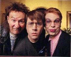The League of Gentlemen - Pauline, Ross, and Mickey. English Comedy, British Comedy, Inside No 9, Steve Pemberton, Gentleman, Reece Shearsmith, League Of Gentlemen, Comedy Tv Shows, Mark Gatiss