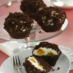 Vakondtúrás muffin Muffins, Cupcakes, Parfait, Macarons, Fudge, Food And Drink, Cooking Recipes, Pasta, Cookies