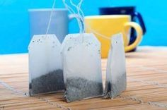 7 New Uses for Tea Bags:  Relief for Bites and Stings If you've been stung or bitten, take a used tea bag and put it in the freezer for five minutes. Take it out and apply the cool, damp compress to your skin for a few minutes for instant relief. The tannins found in tea have incredible anti-inflammatory properties and can reduce redness. ... DIY Anti-Aging Treatment Toss a few green or black tea bags into steaming hot water in your bathroom sink. Throw a towel over your head and hover over…