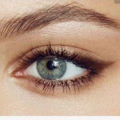 Edgy Makeup, Makeup Eye Looks, Eyeliner Looks, Eye Makeup Art, Natural Eye Makeup, No Eyeliner Makeup, Pretty Makeup, Skin Makeup, Eyeliner Pencil