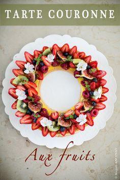 """Tarte """"Couronne de Fruits rouges"""" - Quatre Saisons Au JardinQuatre Saisons Au Jardin"""
