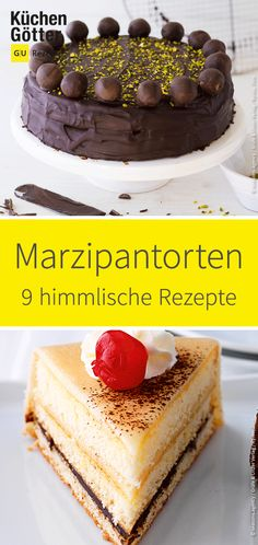 We show you 9 heavenly recipes for home-made German Christmas, Food Cakes, Almond Recipes, Christmas Baking, Cake Recipes, Bakery, Food Porn, Easy Meals, Food And Drink
