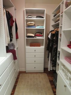 Small Walk-In Closet | small Walk In Closet' Design, Pictures, Remodel, Decor and Ideas ...