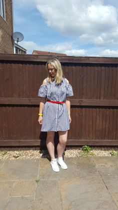 Gingham Dress Trend : Are You A Fan? #over40style #fashion #Primark #dress