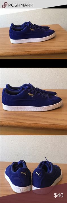 Puma Suede Emboss Size 11 - Worn twice Puma Shoes Sneakers