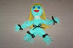 How to Make a Yarn Doll for Kids