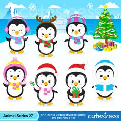Eskimo Clipart Penguin Clipart Polar bear clipart winter