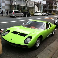 Lamborghini Miura, I can't believe this dude saw this on the street!!!