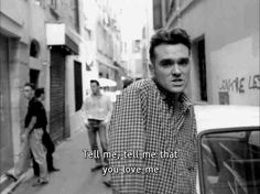 Twitter / southkirk: #Morrissey today's pic ...