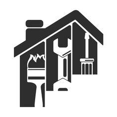 A complete guide to construction logo design Bauunternehmen Logo, Arte Digital Fantasy, Handyman Logo, Logo Guidelines, Maintenance Logo, Background Wallpaper For Photoshop, Email Template Design, Construction Logo Design, Graphic Design Posters