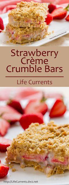 Strawberry Crème Cru